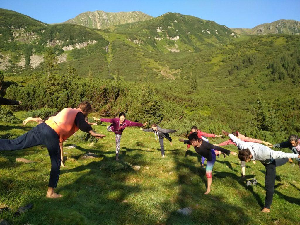 Шаманский Тренинг в Карпатах